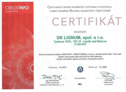 Certifikát o bezdlužnosti